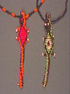 lizard necklaces