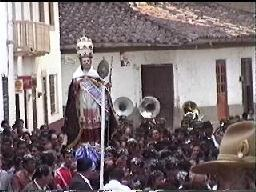 Image of St. Peter in procession