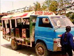 Bus in Yacuambi