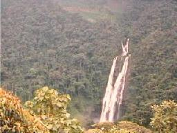 Tres Chorreras waterfall