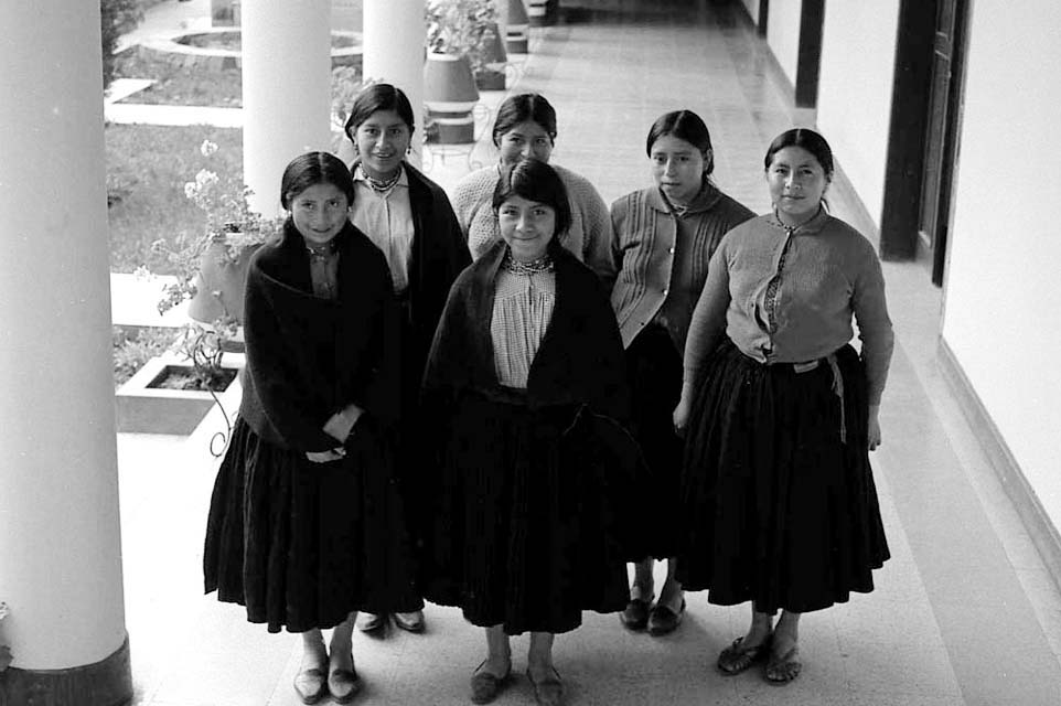 Schoolgirls in Quito